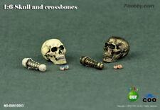 1:6 COOMODEL 50003 Simulation Skull (Eye Movement) Action Figure Accessories NIB
