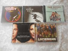 5 CDs Soundtracks All Like New The Sting, Leatherheads, Dick Tracy, Cotton Club+