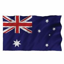 Large Aussie Australia Australian Flag Cricket Rugby World Cup Supporter 5x3ft