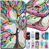 For Huawei Y3II Phone Cover Flip Case Pattern Holder Card PU Leather Wallet Skin