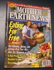 MOTHER EARTH NEWS MAGAZINE SEP 1997 EATING FOR FREE BUILD BOATS MAKE HERBAL SOAP
