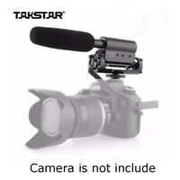 TAKSTAR SGC-598 Photography Interview Shotgun Microphone for Nikon Canon By USPS