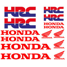 Kit adesivi Honda HRC ( 14 Pezzi )  Moto Stickers