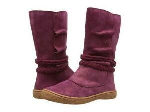 LIVIE & LUCA Shoes Boots Calliope Mulberry Sparkle Size 7 Toddler NIB