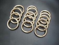 2Pcs 1Pair Kung Fu China WuShu Vajra Fist Training Equipment Brass Solid Ring