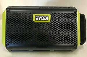 Ryobi ONE+ Portable Bluetooth Speaker with USB Charging Port PAD01B 18v LN
