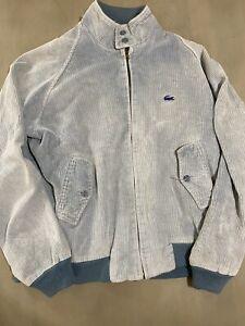 Vintage Lacoste Corduroy Harrington Jacket Large - Izod Polo90s Casual