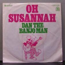 """(o) Dan The Banjo Man (Dan Silver) - Oh Susannah (7"""" Single)"""