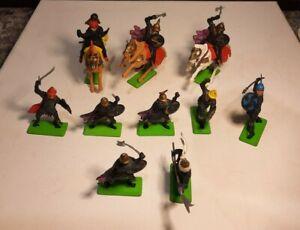 Ten Britains Deetail Turkish Moor Figures