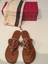 Tory Burch Miller Sandals Vachetta Vintage Size 8