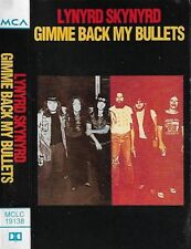 Lynyrd Skynyrd Gimme Back My Bullets CASSETTE ALBUM Southern Rock
