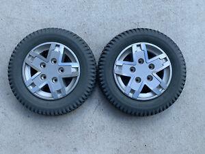 PAIR  3.00-8  TIRES Wheels Power Wheelchair Quantum