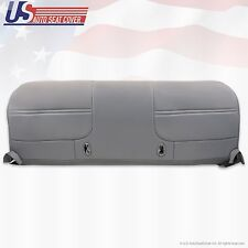2001 Ford F250 F350 F450 F550 XL Work Truck Bottom Bench Vinyl Seat Cover Gray