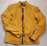 TIGHA Herren Biker Lederjacke Leevi Dusty Yellow Sheep Leather Gr. L UVP 379 €