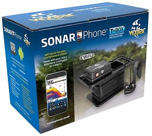 Sonarphone SP300 by Vexilar - Portable T-Pod Wi-Fi Fishfinder (Navionics)