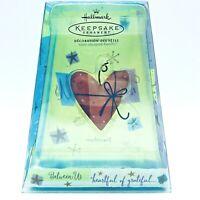 Hallmark Ornament Nello Williams Heartful Of Grateful 2002 Between Us