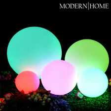 NEW! LED COLOR SPHERE - FLOATING LIGHT BALL - MOOD GLOWING ORB - WATER RESISTANT