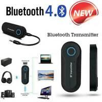 Bluetooth 4.0 Transmitter Audio Wireless Adapter 3,5 Stereo A2Dp Klinke Tv S6F7