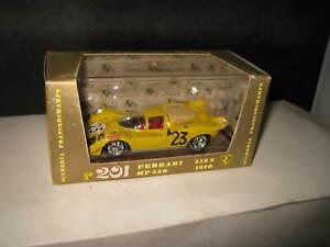 1.43 BRUMM FERRARI 512 S YELLOW 1970 SCUDERIA FRANCORCHAMP #R201 OLD STOCK