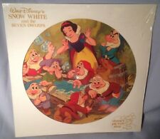 LP SOUNDTRACK WALT DISNEY Snow White PICTURE DISC 3101 NEAR MINT