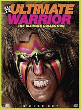 WWE: Ultimate Warrior - The Ultimate Collection (DVD, 2014, 3-Disc Set)