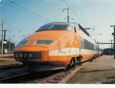 CPA TRAIN BELFORT T.G.V. de la S.N.C.F. record du monde de vitesse 380 km/h