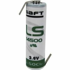 Saft LS14500HBG AA 3.6V celda de batería de litio de 2600mAh de tamaño