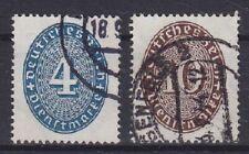 DR Dienst Mi Nr. 130, 131, gestempelt, Dienstmarken Dt. Reich 1933, used