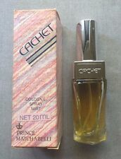 New RARE Vintage CACHET 20ml Eau De Cologne EDT Spray for Women LAST ONE
