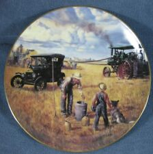 Bountiful Harvest Collector Plate Danbury Mint Farming Heartland Emmett Kaye