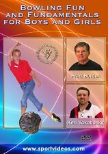 Bowling Fun and Fundamentals for Boys and Girls DVD - Free Shipping