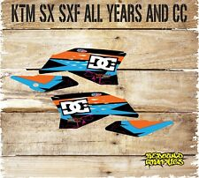 KTM SX SXF 50 65 85 125 250 450 Calcomanías Gráficos Rad Scoop pegatinas motocross