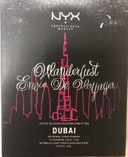 NYX Wanderlust Envie De Voyager Limited Edition Lip & Eye Palette: DUBAI