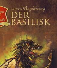 """10 Euro SILBER 2009 """"DER BASILISK""""    *Folder*"""