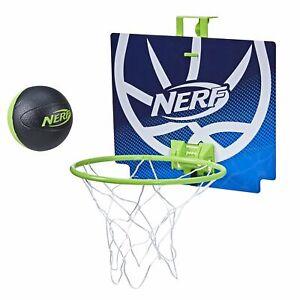 Nerf Nerfoop - The Classic Mini 4'' Foam Basketball & Hoop - Hooks On Doors