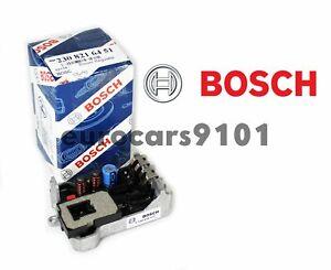 New! Mercedes-Benz Bosch Front HVAC Blower Motor Regulator 9140010471 2308216451