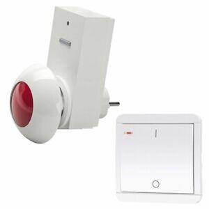 Notruf Alarm Signalgeber Melder Garage Haus Büro Warnmelder Alarmanlage Signal
