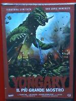 yongary il più grande mostro dvd nuovo  sigillato copia rara numerata 935 di 999