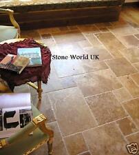 Sample of Walnut (Noce) Antique Travertine Floor Tiles