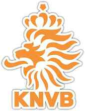"Royal Dutch Football KNVB Netherlands Soccer Bumper Sticker Decal 4""X5"""