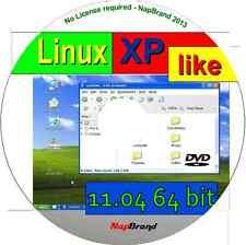 Xplike 11,04 - Win Xp parecida a Linux sistema operativo, disponible como de 64 bits en Vivo Dvd
