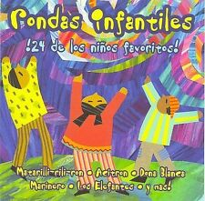 Rondas Infantiles: 24 De Los Ninos Favoritos Various Artists Audio CD