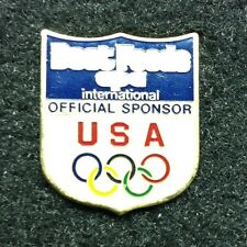 Rare Olympic Pin! Best Foods - 1988 excellent cond.