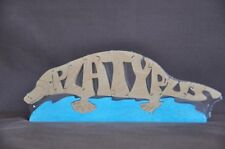 Platypus Wooden Puzzle Amish Made Scroll Saw Toy  NEW