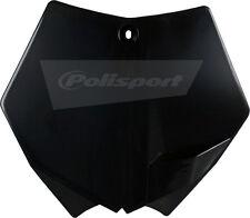 POLISPORT NUMBER PLATE KTM BLACK Fits: KTM 250 SX,250 SX-F,250 XC,250 XC-W,250 X
