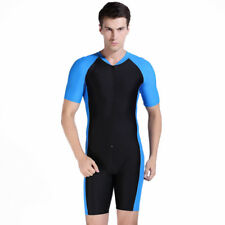 SBART Anti-UV Short Sleeve Triathlon Wetsuit Men Women Surfing Diving Wetsuit