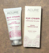 Acure Eye Cream 1 fl oz Chlorella Edelweiss Extract VEGAN CRUELTY FREE