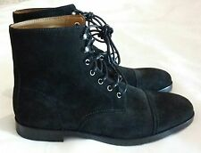 POLO RALPH LAUREN Daley Suede Leather Lace-up Boots Dark Brown Size uk 7 eu 41