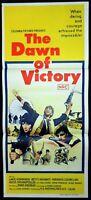 THE DAWN OF VICTORY 1971 Lakis Komninos Australian daybill Movie poster