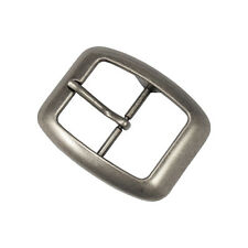 Vintage Silver Standard Classic Square Mens Womens Unisex Belt Buckle NEW